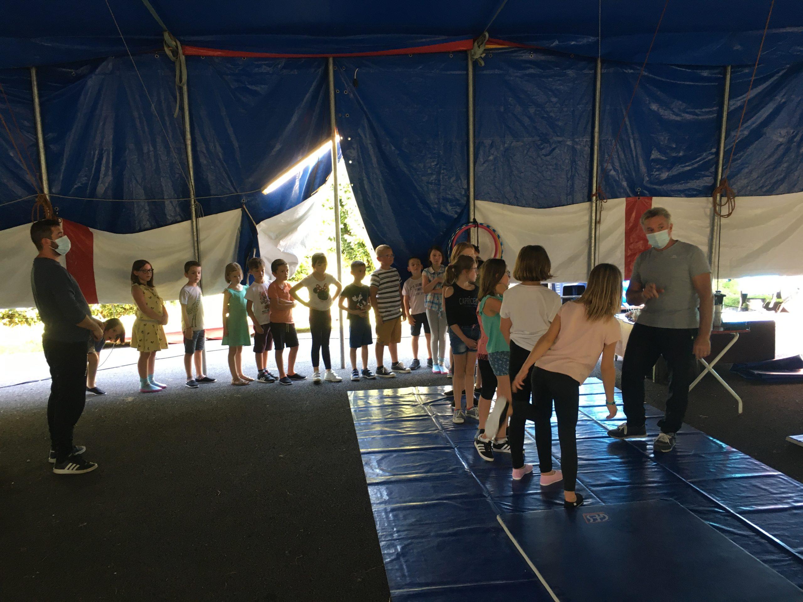 1er jour de cirque